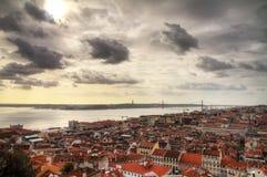 Cityscape van Lissabon Royalty-vrije Stock Foto