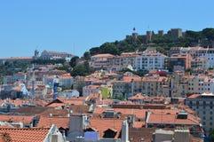 Cityscape van Lissabon Royalty-vrije Stock Foto's