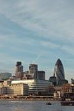Cityscape van Londen Stock Foto's