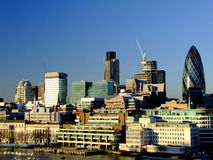 Cityscape van Londen Royalty-vrije Stock Foto