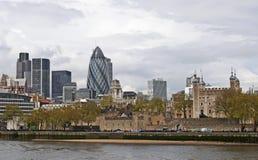 Cityscape van Londen Stock Afbeelding