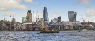 Cityscape van Londen Royalty-vrije Stock Foto's