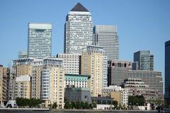 Cityscape van Londen Stock Foto