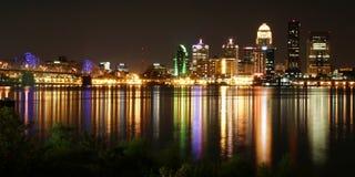 Cityscape van Louisville Kentucky Stock Afbeelding