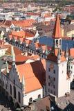 Cityscape van München Stock Afbeelding