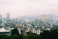 Cityscape van Macao Stock Fotografie