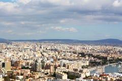 Cityscape van Majorca royalty-vrije stock foto's