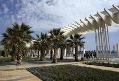 Cityscape van Malaga Spian Dag stock fotografie