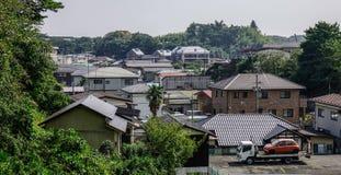 Cityscape van Matsushima, Japan stock afbeeldingen
