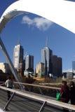 Cityscape van Melbourne Stock Afbeelding