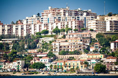 Cityscape van Messina Royalty-vrije Stock Afbeeldingen
