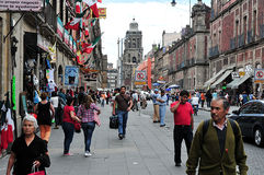 Cityscape van Mexico-City Stock Foto's