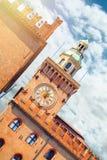 Cityscape van Modena, middeleeuwse stad die in Italië wordt gesitueerd stock fotografie