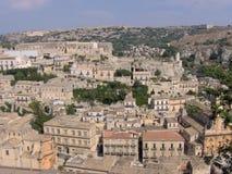 Cityscape van Modica Royalty-vrije Stock Afbeelding