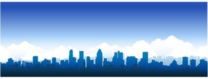 Cityscape van Montreal Stock Afbeeldingen