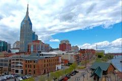 Cityscape van Nashville Stock Afbeeldingen