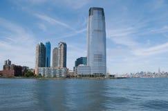 Cityscape van New Jersey Stock Foto's