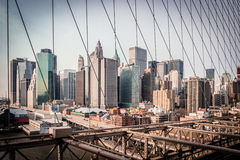 Cityscape van New York Royalty-vrije Stock Afbeeldingen