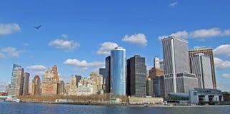 Cityscape van New York stock afbeeldingen