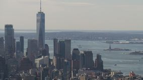 Cityscape van New York royalty-vrije stock afbeelding