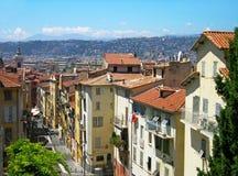 Cityscape van Nice Stock Afbeeldingen