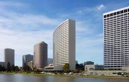 Cityscape van Oakland stock afbeeldingen