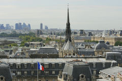 Cityscape van Parijs royalty-vrije stock fotografie
