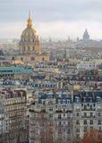 Cityscape van Parijs Stock Fotografie