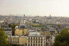 Cityscape van Parijs Stock Afbeeldingen
