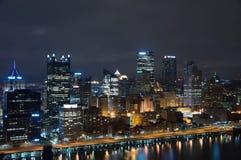 Cityscape van Pittsburg Royalty-vrije Stock Afbeelding