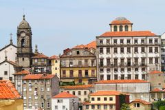 Cityscape van Porto, Portugal Stock Afbeeldingen