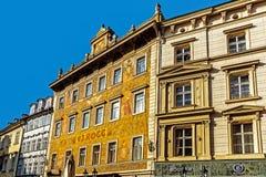 Cityscape van Praag Stock Fotografie