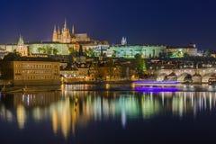 Cityscape van Praag - Tsjechische Republiek Stock Fotografie