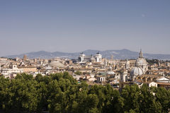 Cityscape van Rome Royalty-vrije Stock Foto