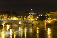 Cityscape van Rome Stock Foto's