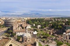 Cityscape van Rome, Italië Stock Afbeelding
