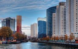 Cityscape van Rotterdam Stock Foto