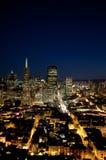 Cityscape van San Francisco Stock Foto's