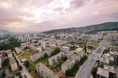 Cityscape van Sarajevo royalty-vrije stock foto's