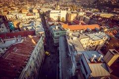 Cityscape van Sarajevo Royalty-vrije Stock Afbeeldingen