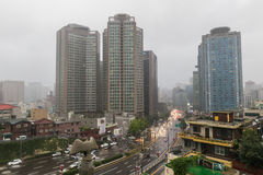 Cityscape van Seoel, Korea royalty-vrije stock foto
