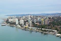 Cityscape van Sotchi Stock Foto