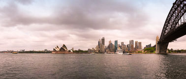 Cityscape van Sydney Royalty-vrije Stock Afbeeldingen