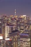 Cityscape van Tokyo Stock Fotografie