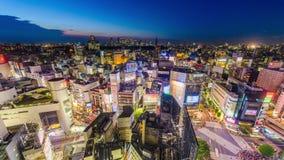 Cityscape van Tokyo Japan stock videobeelden
