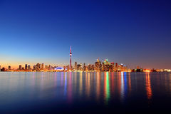 Cityscape van Toronto Royalty-vrije Stock Foto