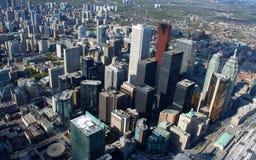 Cityscape van Toronto Stock Foto's