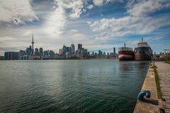 Cityscape van Toronto in Canada royalty-vrije stock afbeelding