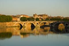 Cityscape van Toulouse Stock Foto's