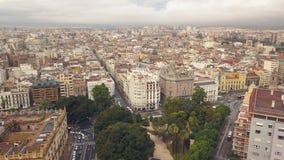Cityscape van Valencia stock videobeelden